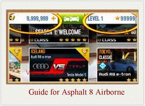 Guide Airborne for Asphalt 8 poster