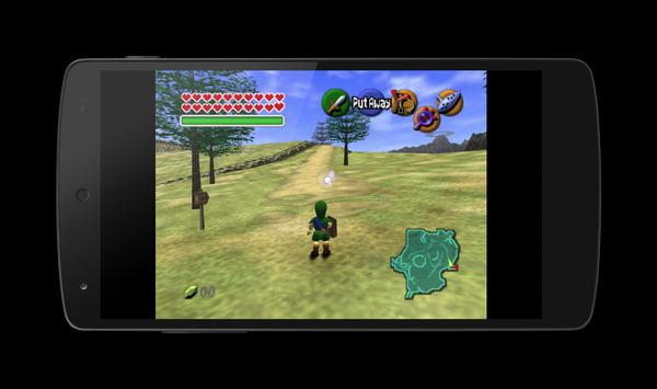 MegaN64 (N64 Emulator) apk screenshot