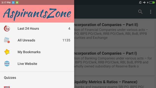 Aspirants Zone screenshot 8
