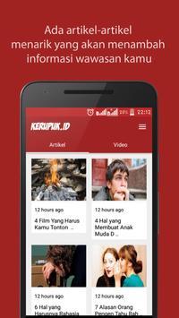 KERUPUK - Hiburan Masa Kini screenshot 1