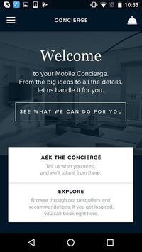 Aspire Lifestyles Mobile Concierge screenshot 3