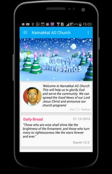 Namakkal AG Church apk screenshot