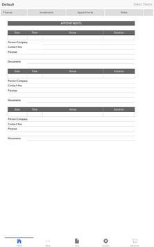 Personal Information apk screenshot