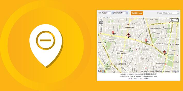 Free GPS Cell Phone Tracker apk screenshot