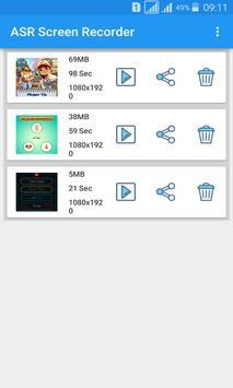 ASR Screen Recorder apk screenshot