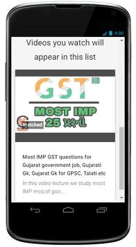 GPSC Exam Prerapartion apk screenshot