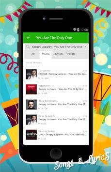 Sergey Lazarev Songs apk screenshot