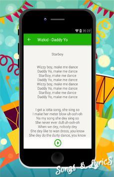 WizKid - Daddy Yo apk screenshot