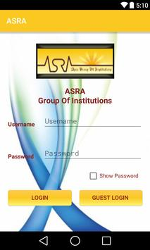 Asra Group Of Institutions poster
