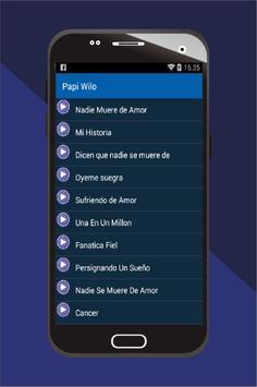 Papi Wilo Musica MP3 apk screenshot