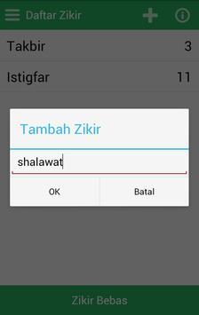 Zikr Counter apk screenshot