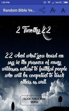 Random Bible Verse تصوير الشاشة 4