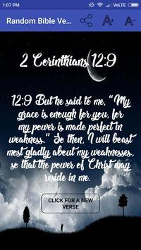Random Bible Verse تصوير الشاشة 2