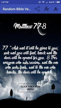 Random Bible Verse تصوير الشاشة 3