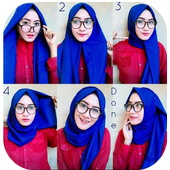 Complete Hijab model and tutorial icon