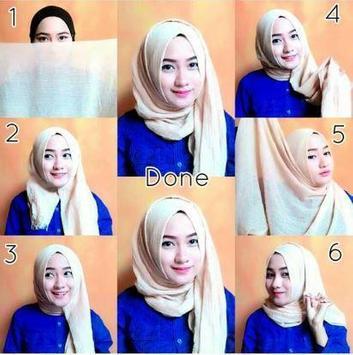 Complete Hijab model and tutorial screenshot 3
