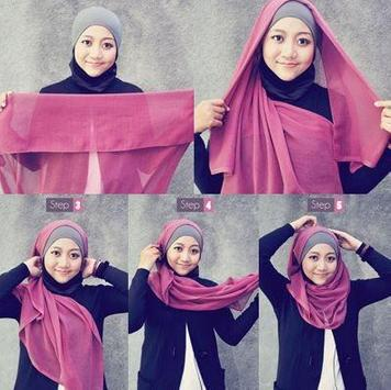 Complete Hijab model and tutorial poster