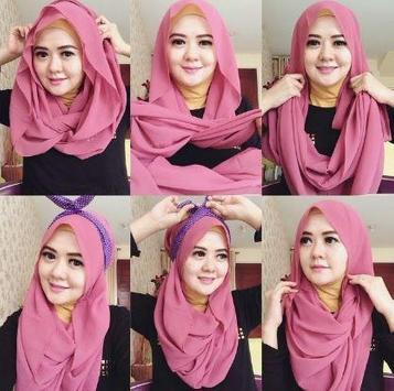 Complete Hijab model and tutorial screenshot 1
