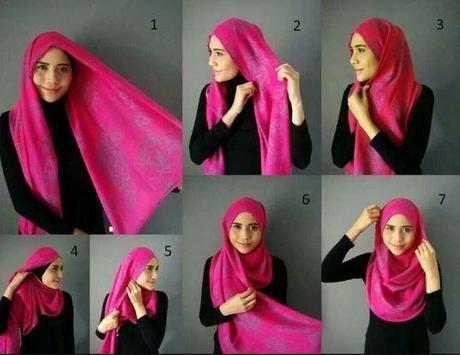 Complete Hijab model and tutorial screenshot 5
