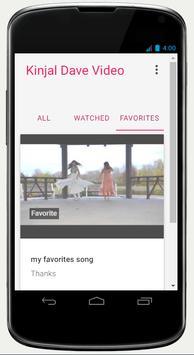 Kinjal Dave Video apk screenshot