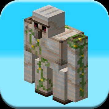 Golem Mods For MineCraft PE poster
