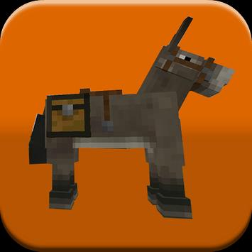 Horses Mods For MineCraft PE poster