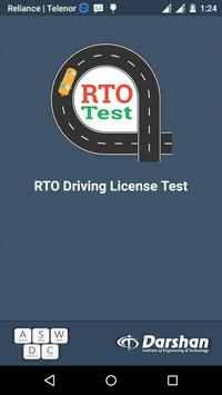 RTO Driving Licence Test poster
