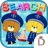 TINY TWIN BEARS‐summer icon