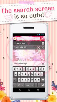 Kawai Widget Spring Flower apk screenshot