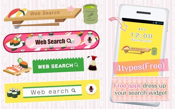 Kawai Widget SUSHI apk screenshot