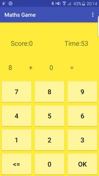 Maths Game screenshot 1