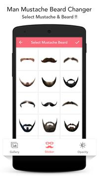 Man Mustache Beard Changer screenshot 4