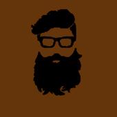 Man Beard redactor icon