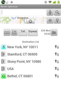 Route Optimizer screenshot 2