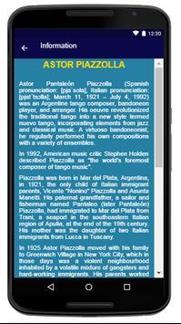 Astor Piazzolla  - Song And Lyrics apk screenshot