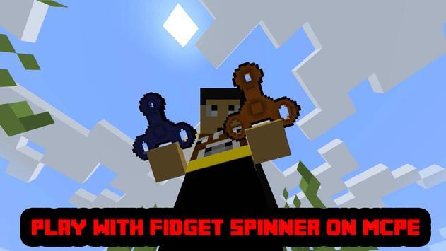 Mod Fidget Spinner MCPE poster