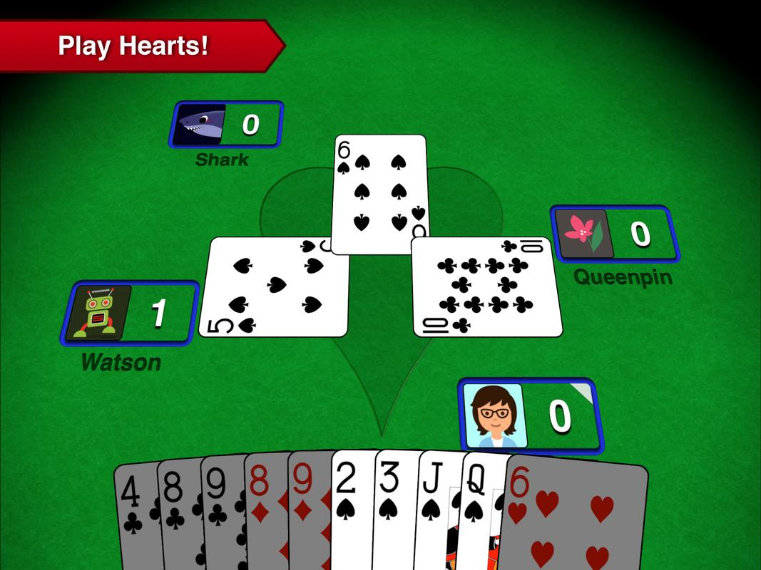 card game hearts free