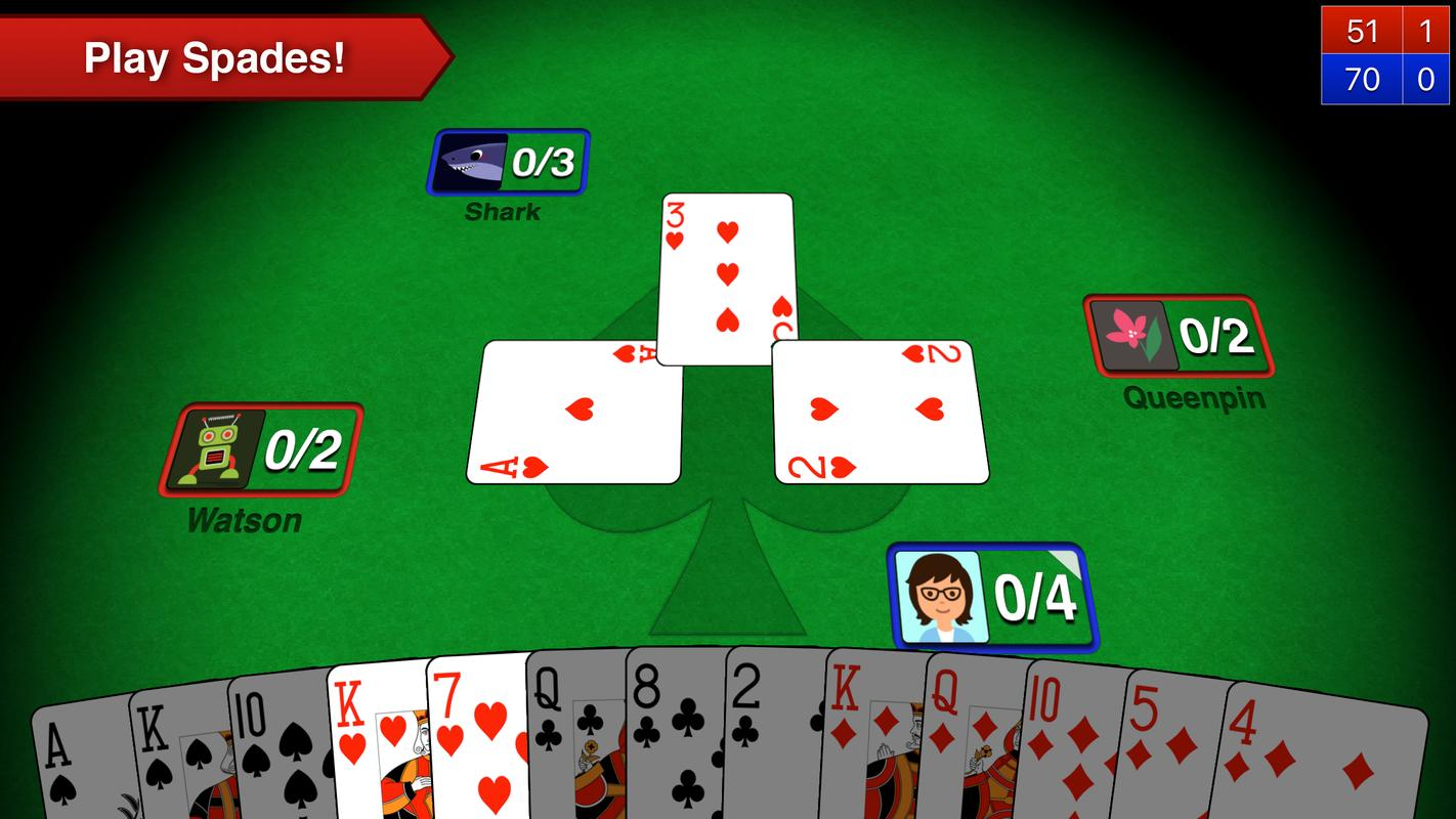 Play Free Spades Online With No Download