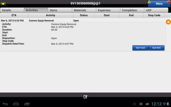 Astea Mobile screenshot 5
