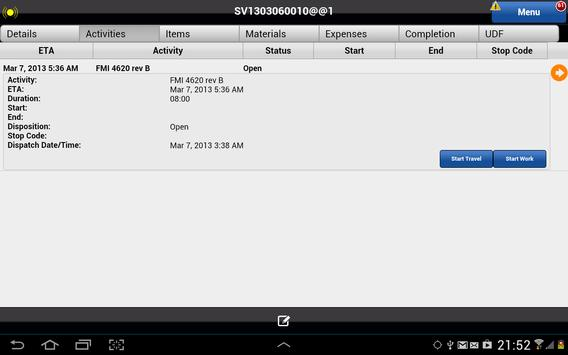 Astea Mobile screenshot 8