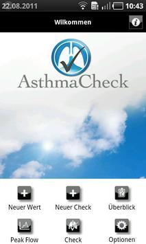 AsthmaCheck poster