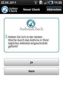 AsthmaCheck screenshot 2
