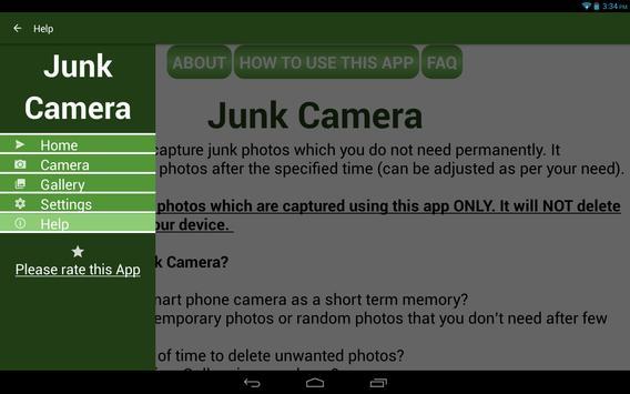 Junk Camera screenshot 9