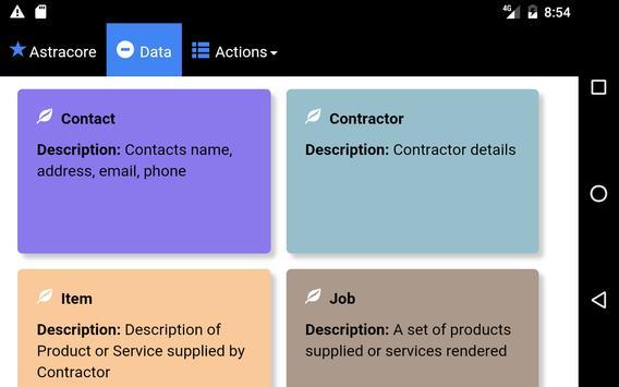 Invoices apk screenshot
