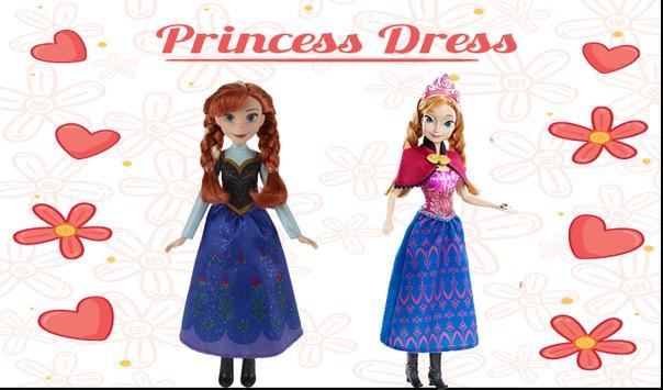 Princess Elsa Dress Up poster