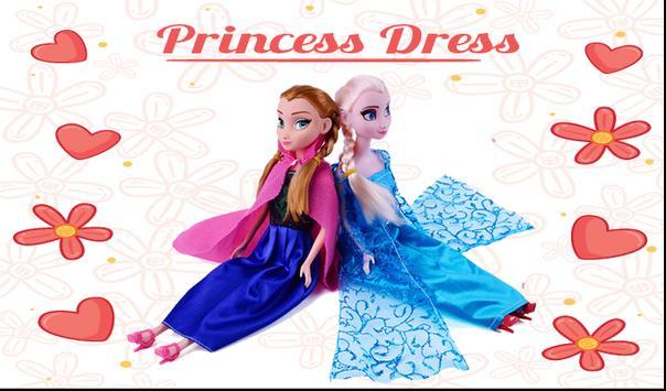 Princess Elsa Dress Up screenshot 1