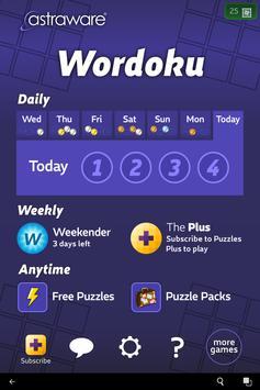 Astraware Wordoku apk screenshot