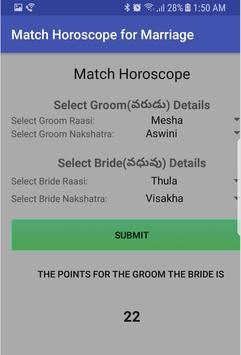 Horoscope Matcher apk screenshot