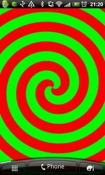 Hypnotic Spiral Live Wallpaper apk screenshot