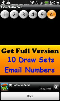 Astro*Lotto Free screenshot 3